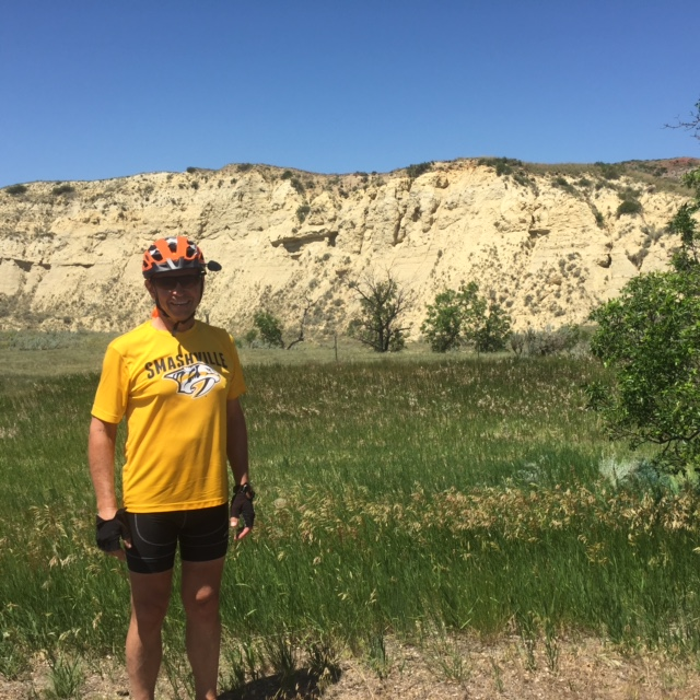 Rick in the ND Badlands